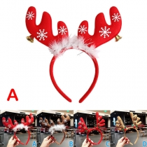 Cute Style Antlers Shaped Hair Band with Bell