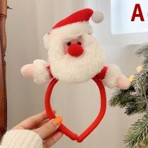 Cute Style Christmas Doll Shaped  Hairband