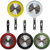 Creative Style Pan Shaped Wall Clock