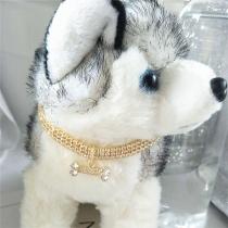 Fashion Rhinestone Inlaid Pets Choker Necklace