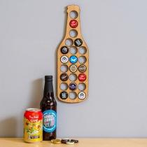 Creative Style Beer Bottle Shape Beer Cap Holder