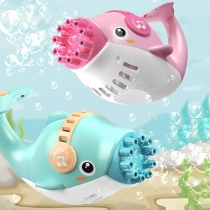 Electric Dolphin Bubble Machine Toy for Children