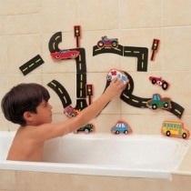 City Puzzle EVA Bath Toys for Toddlers Kids
