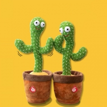 120 Songs Dancing Cactus Toys Singing Cactus Toy Educational Toys are Suitable for Home Decoration or Children's Toys