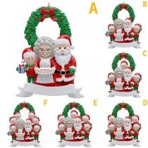 Cute Style Santa Claus Family DIY Decoration