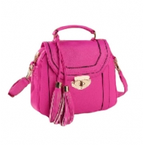 Latest Candy Color Retro Fringed Crossbody Bag