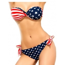 USA Stars With Stripes Bikini