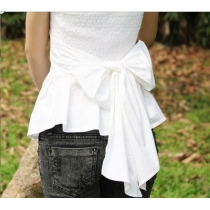 Nice bowknot vest strapless top