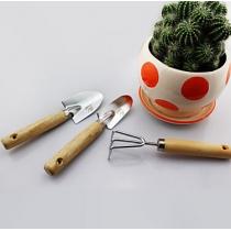 3 Pcs Metal Plating Mini Children Garden Tools