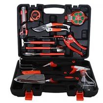 12 Pcs Steel Chrome Garden Tools Set