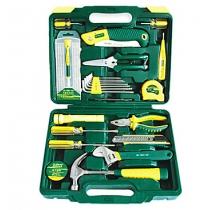 55 Pcs Metal Garden Tools Set Vehicle Toolbox
