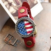 Restoring ancient ways the flag of the United States fashion watches